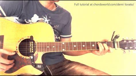 demi lovato heart attack gitar notaları heart attack chords quot demi lovato quot chordsworld guitar