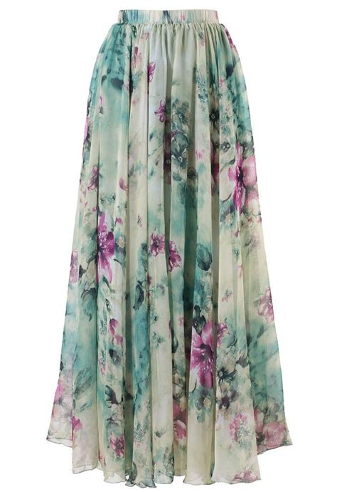 floral maxi skirt things i like