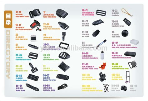types of seat belts release buckle side release buckle plastic and metal
