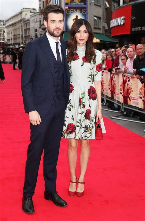 michael whitehall and wife jack whitehall and gemma chan joined by jamie and louise