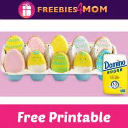 Domino Sugar Sweepstakes 2016 - free printable easter egg cookie decorating kit