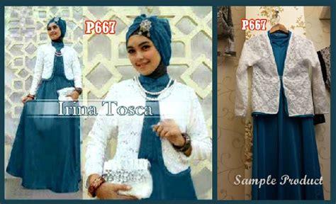 Irina Maxi Brukat by Baju Gamis Brokat Irina New P667 Xl Busana Muslim
