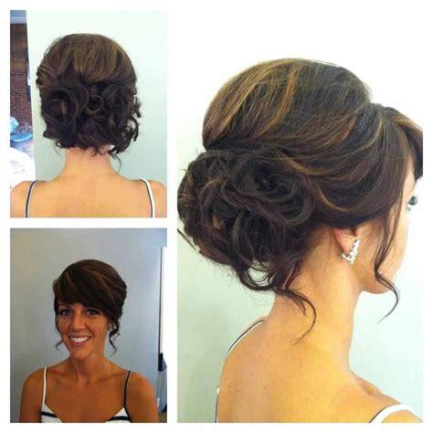 Side Swipe Updo Hairstyles | side swept updo hair do s pinterest