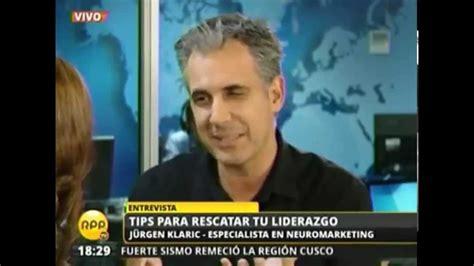 jurgen klaric youtube jurgen klaric entrevista en noticias rpp internacional