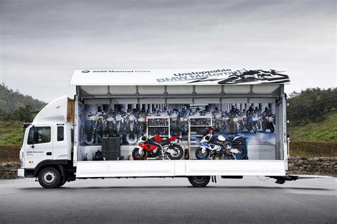 Mini Motorrad Mobile by Bmw Motorrad Unveiled Bmw Motorrad Mobile Lounge Truck