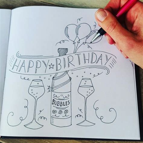 Bday Drawing by Best 25 Birthday Card Quotes Ideas On