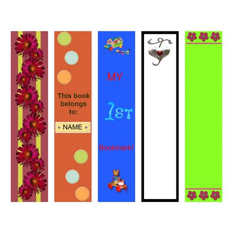 template to print bookmark template to print activity shelter