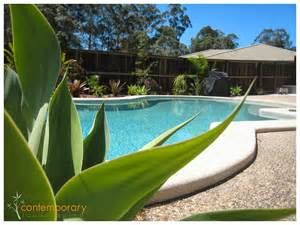 Pool Landscaping Ideas Queensland Contemporary Landscaping Contemporary Landscaping Pool