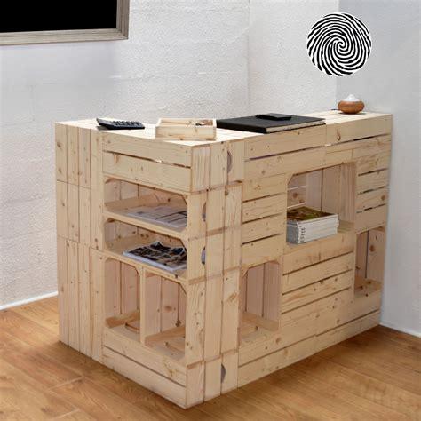 comptoir des bois comptoir d accueil modulable en fonction de chaque espace