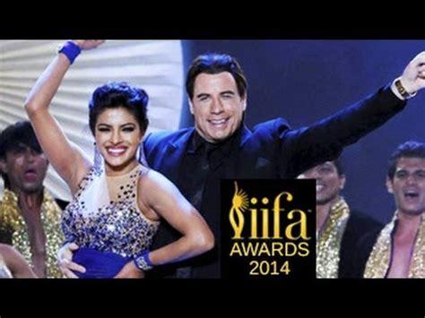 priyanka chopra john travolta s hot dance at iifa awards 2014 priyanka chopra john travolta s hot dance at iifa awards