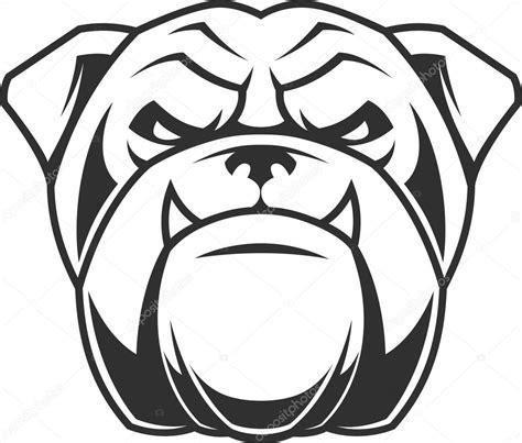 imagenes vector bulldog la cabeza de un feroz perro bulldog archivo im 225 genes