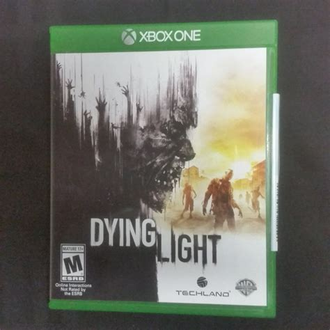 save the light xbox one replacement case no game dying light xbox one edition