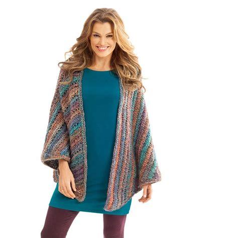 triangle pattern vest lion brand homespun necks best thing triangle shawl
