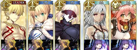 Fate Grand Order Card Template by F Go Introductory Guide To Fate Grand Order Setups