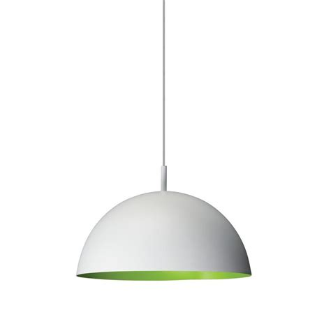 Philips Pendant Light Philips Domo 1 Light White With Green Hanging Pendant 402283348 The Home Depot