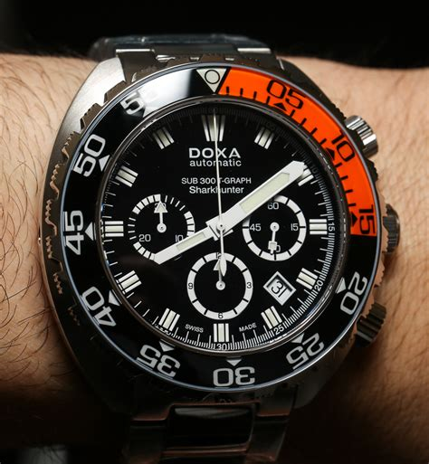 doxa dive doxa sub 300t graph chronograph watches on