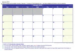 wincalendar calendar template 2016