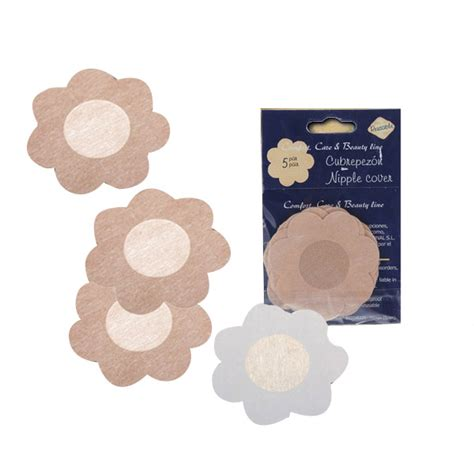 nipple tattoo stickers 5 pairs flower nipple non woven sticker disposable fabric