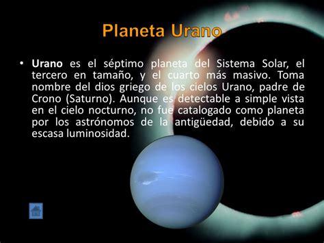 imagenes de maqueta de urano los planetas y el sistema solar ppt video online descargar
