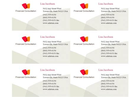 Avery Business Card Template 8371 For Pages by Avery Business Card Template 8371 Avery 8371 Templates
