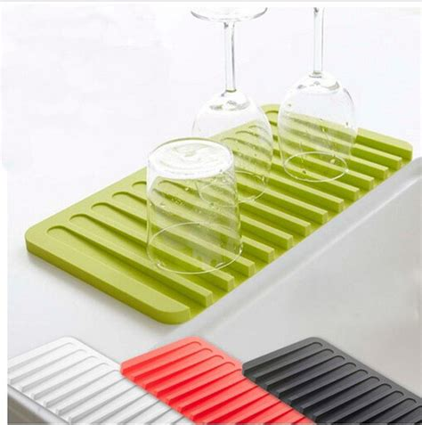 kitchen drying mat high quality silicone kitchen dish drying mat kitchen