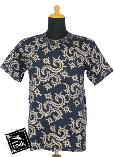 Kaos Batik Cap By Batik Nitnot kaos batik exclusive motif batik cap daun pakis kaos