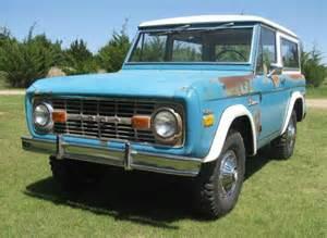 1970 S Ford Bronco For Sale 1970 Ford Bronco Sport Survivor For Sale Front
