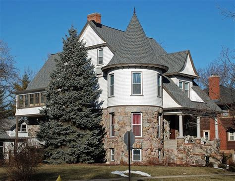 Tower House Plans 1890s Home Built For John Gross Brother Of Brookfield S