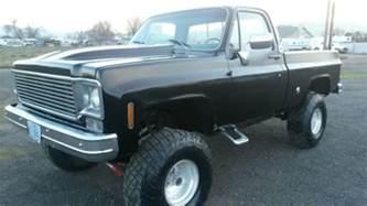 4 Wheel Truck 1977 Chevy Truck 4 Wheel Drive Bed New