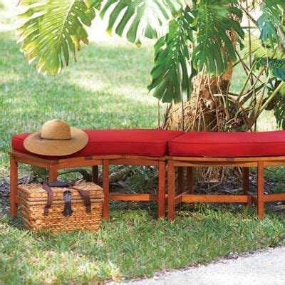 curved fire pit bench cushions curved fire pit bench