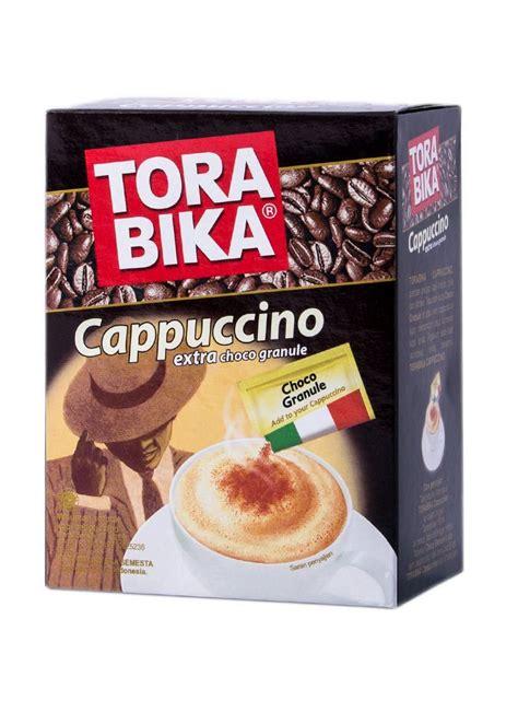 Torabika Kopi Cappucino 10 S torabika cappuccino choco granule box 5x25g