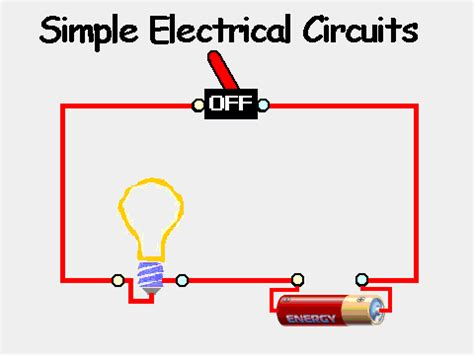 how to make a electric circuit with switch simple circuit on scratch