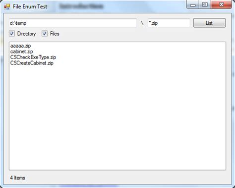 pattern matching vb net list files in directory in c cslistfilesindirectory