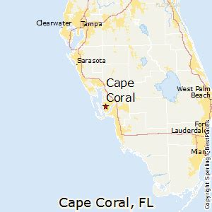 cape coral map florida best places to live in cape coral florida