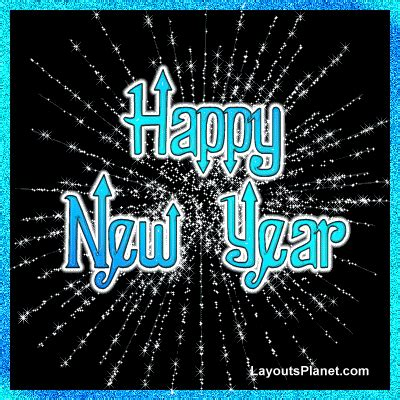 new year animation planet new year 2012 animated card