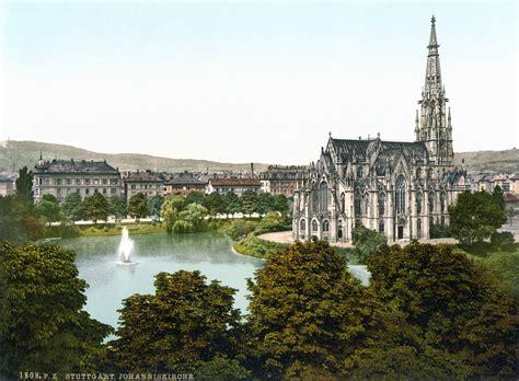 stuttgart church file johanniskirche stuttgart 1900 jpg wikipedia