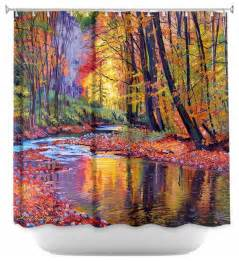 Unique Shower Curtains Shower Curtain Unique From Dianoche Designs Autumn Prelude Contemporary Shower Curtains