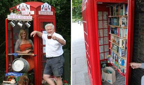 Bookcrossing Telephone Boxes Are The New Cafes by The Phone Boxes Which Are Being Transformed