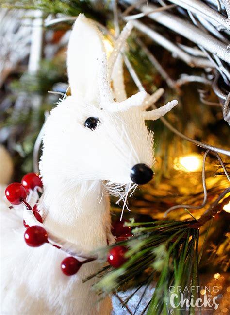 winter wonderland christmas tree  crafting chicks