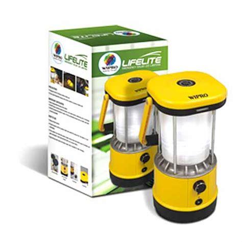 buy wipro lifelite emergency solar led lantern at best price in india on naaptol