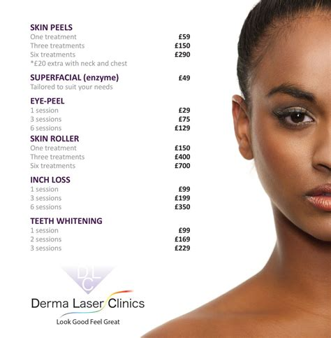 offers promotions derma laser clinics prices derma laser clinics