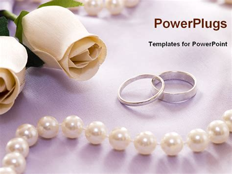 wedding powerpoint templates best wedding powerpoint template wedding rings with flower