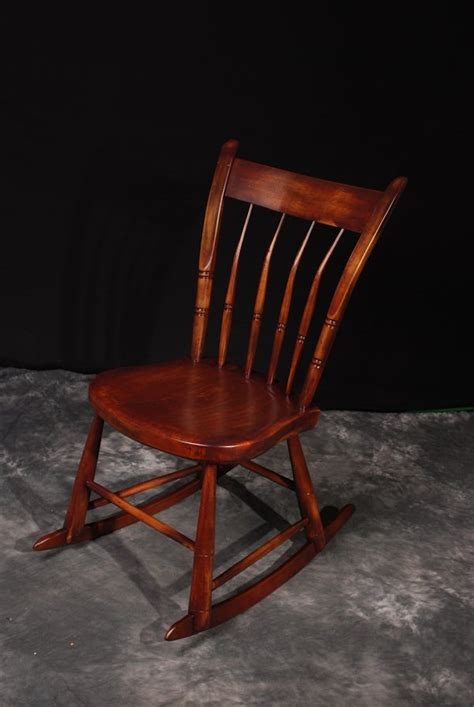 refinish wood rocking chair woodworking