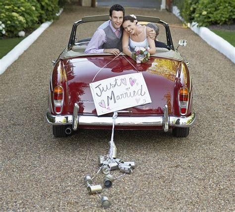 Funny Wedding Car Decorations