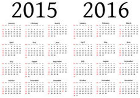 T C 2000 Calendario 2015 Plantilla Calendario 2015 2016 Ilustraci 243 N Vector