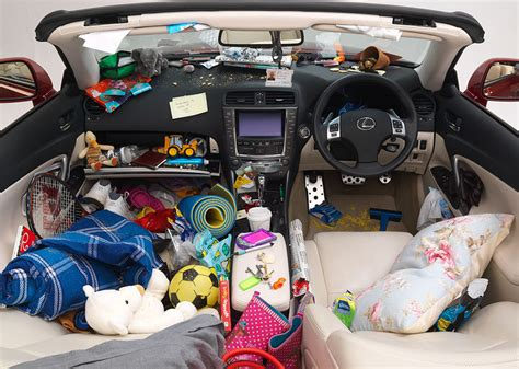 10 of the worst things to to clean out of your car