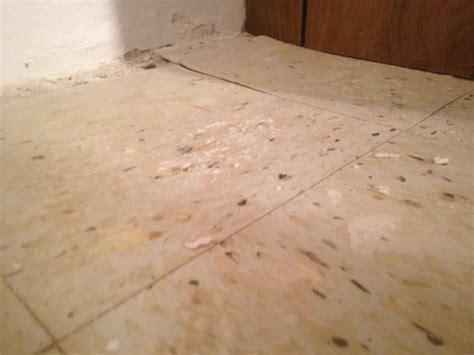 asbestos tile?   DoItYourself.com Community Forums