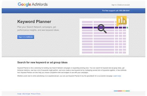 adsense keywords planner die besten tools zur keyword recherche numarx