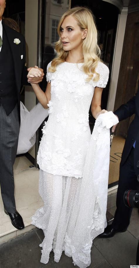 wedding channel poppy delevingne s wedding dress is chanel couture bridal