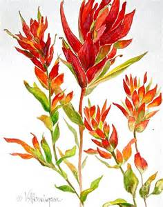 Art Class Ideas Indian Paintbrush Flowers » Ideas Home Design